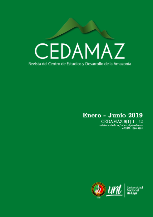 Ver Vol. 9 Núm. 1 (2019): CEDAMAZ