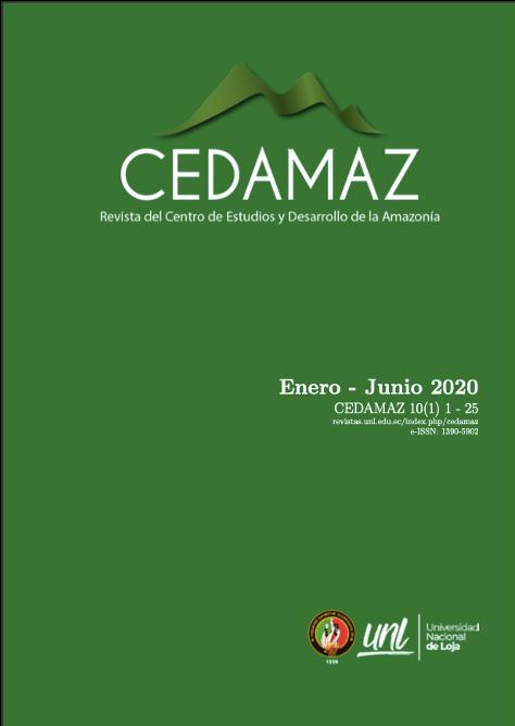 Ver Vol. 10 Núm. 1 (2020): CEDAMAZ