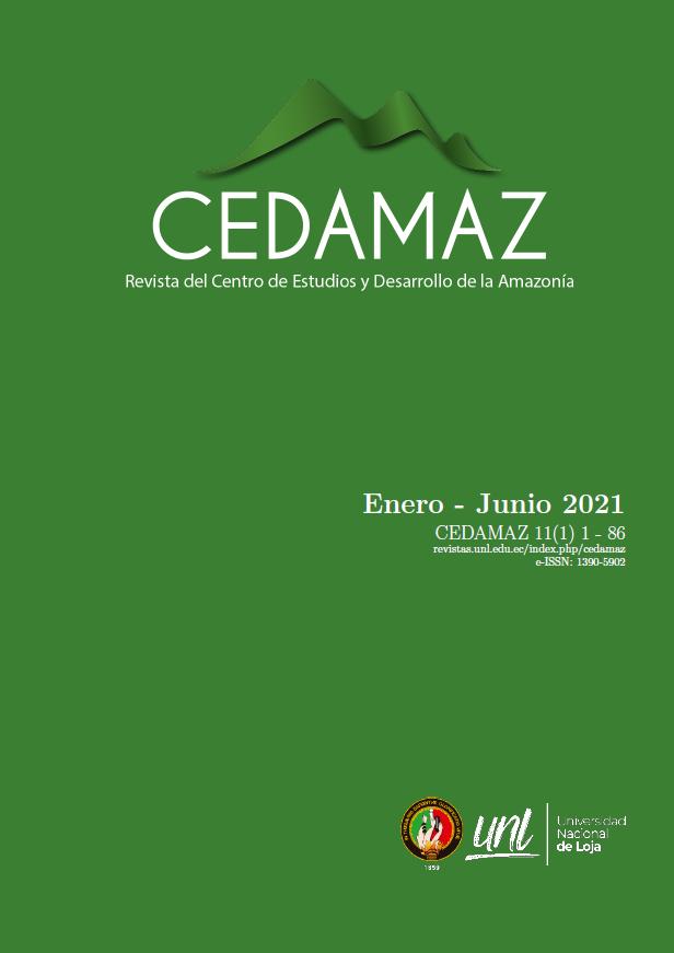 Ver Vol. 11 Núm. 1 (2021): CEDAMAZ