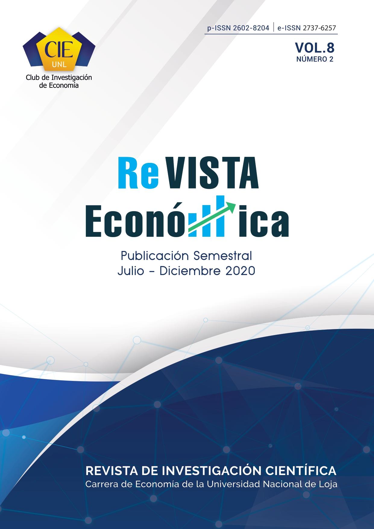 Ver Vol. 8 Núm. 2 (2020): Revista Vista Económica (Julio-Diciembre 2020)